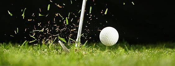 Photo of a golf ball on a tee